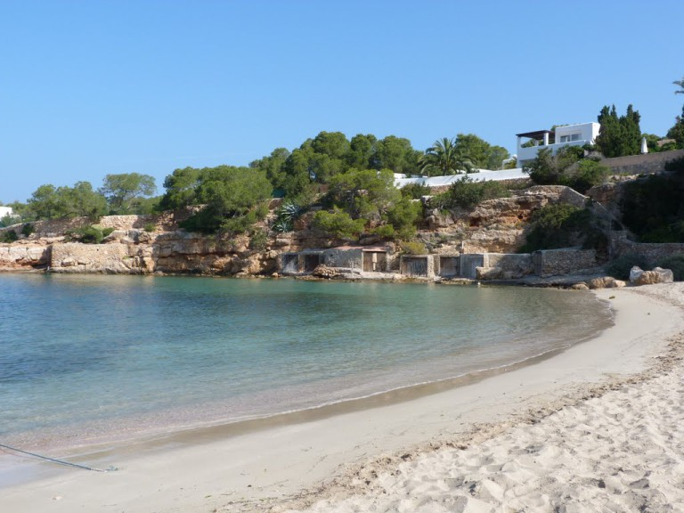 Cala Gracio Ibiza beach