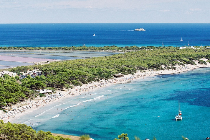 Ibiza's beaches - Ses Salines beach