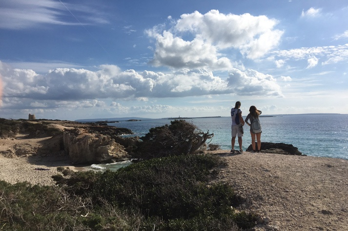 Hiking Ibiza Ses Salines hire a car rent a car