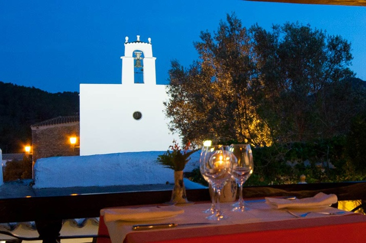 romantische restaurants van Ibiza