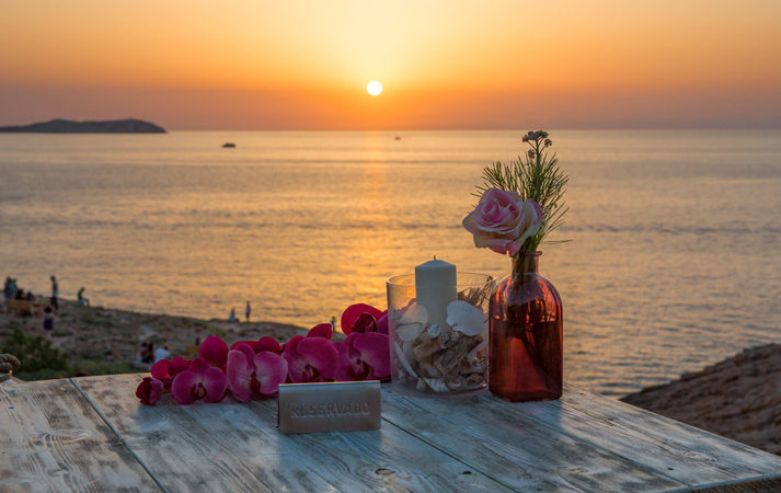 most romantic restaurants in Ibiza car rental in Ibiza