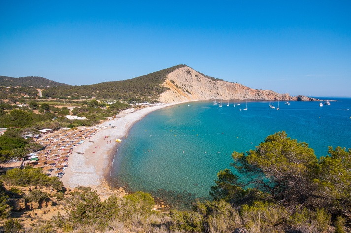 cala jondal best beaches ibiza