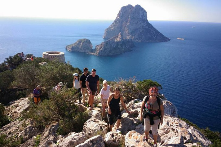 Ibiza in February hiking car rental