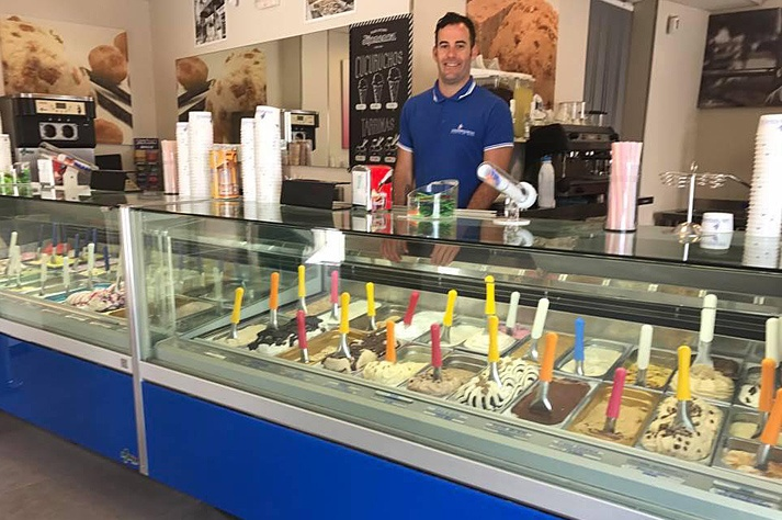 best ice creams in Ibiza los valencianos