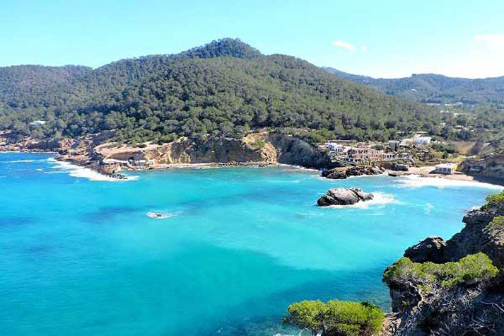 Cala Xarraca beach north Ibiza