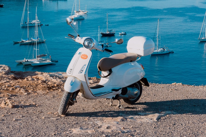 best month to travel to Ibiza and rent a motorcycle