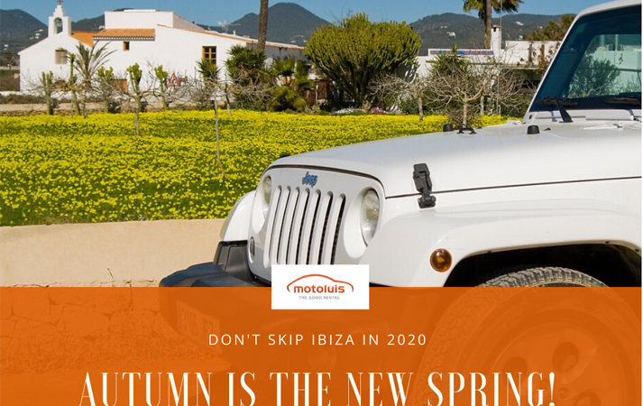 Ibiza autumn 2020 offer