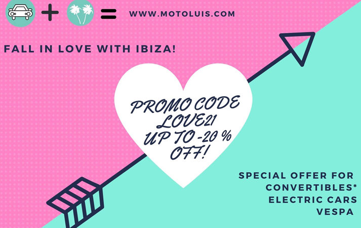 valentine day offer ibiza rent a car